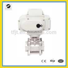 "AC2200V 2-way 4-20mA or 0-10V Stainless Steel 2"" proportional motor Ball valve"