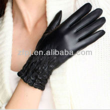 2012 moda senhora luvas de couro karachi