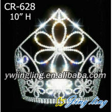 Big flower elegant Beauty Pageant Crown CR-628