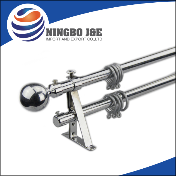 Classic Metal Curtain Pole Set