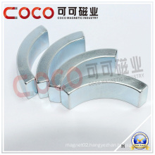 Various Bridge NdFeB Motor Magnets & High Performance Arc NdFeB Motor Magnets