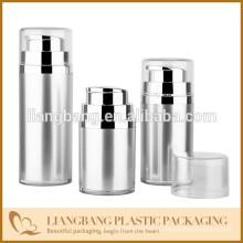 Embalagem cosmética com garrafa sem ar