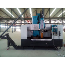 Metal lathe machine VTL machining for metal