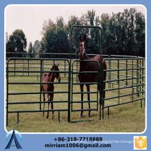 2015 Qualität 1.6 * 2.1m Gebrauchte Corral Panels, Gebrauchte Pferd Zaunpaneele, verzinkter Viehbestand aus Metall