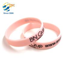 Wholesale silicone bracelet custom logo Cheap