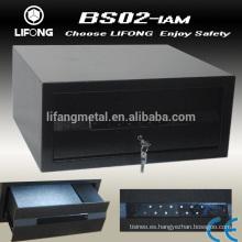 Metal Digital segura caja del cajón con el tacto del teclado