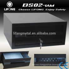 Metal Digital drawer safe box with touching keypad