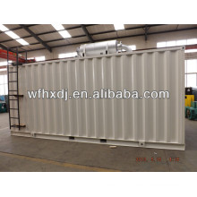 8-2000kw container deisel generator with low fuel