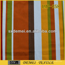 venta de tela de poliéster algodón lona rayas