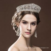 Love Crown Promise anel de jóias de liga de aniversário de coroa Tiaras para adultos