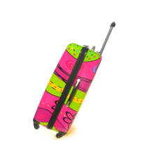Colorful Printing Luggage Travel High Quality