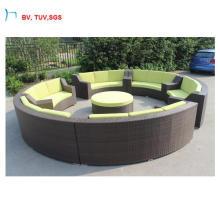 H-China New Outdoor Garden Furniture Wicker Sofa Set
