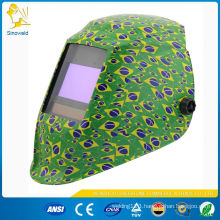 solar helmet for welding