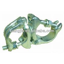 BS1139 / EN74 bride galvanisée de pivot d'échafaudage forgée par baisse