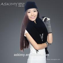 Новый дизайн шерстяной шарф Большой размер вязания шарф