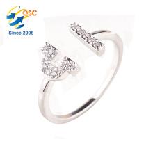 Einstellbare Größe Silber Waage Ring Schmuck für Mädchen