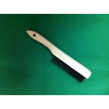 Czdy-0036 Cepillo de alambre de acero negro