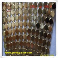Malla de cortina decorativa / metálica para arquitectura (ISO)