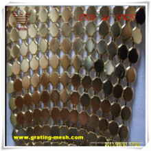 Maille décorative / métallique de rideau pour l'architecture (ISO)