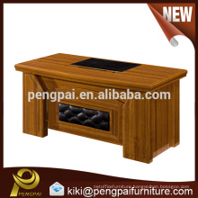 Cheap quality small size office table design for assistant