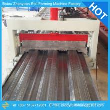 YX76-344-688 máquina de laminação de piso de piso, equipamento de formação a frio, máquina de rolo de todos os tipos