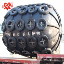 Le monde a largement utilisé le ballon gonflable en caoutchouc marin de haute qualité / l'amortisseur pneumatique en caoutchouc