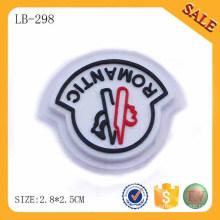 LB298 Eco-friendly logotipo personalizado bagagem pvc patch