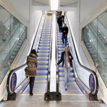 Escada rolante comercial exterior interna de poupança de energia do corrimão da etapa