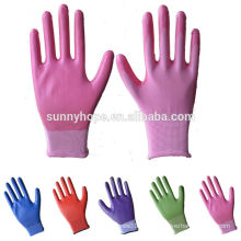 Sunnyhope 13G gefärbte Nitrilbeschichtete Arbeitshandschuhe günstig