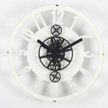Reloj de pared de 12 pulgadas ahuecado de aspecto agradable