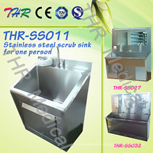 Stainless Steel Scrub Sink for One Person (THR-SS011)