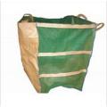 Color Verde Bolsa grande reciclado para jardinería
