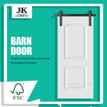 JHK-S04 Panel White Grain Door Sliding Barnwood Door Seal Shower Door