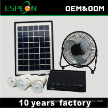 portable 6w 12v panel solar light system kit dc