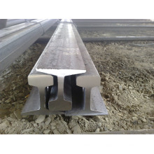 Rail en acier de chemin de fer de train laminé à chaud U71mn 38kg/M