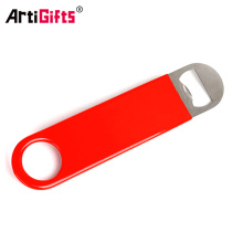 Wholesale cheap custom own shape beer bottle opener
