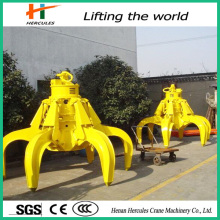 Maximum Safety Hydraulic Scrap Metal Grab