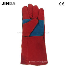 Cowhide Leather Industrial Welding Gloves (L010)
