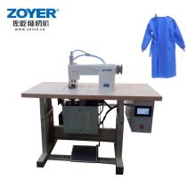 ZY-CSB60Q Ultrasonic lace sewing machine surgical clothing raincoat edge pressing  hot melt bonding