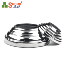 stainless steel pipe fittings food grade Durable Stainless Steel Staircase Railing Tube Post Set Stair Post Base Cover Support