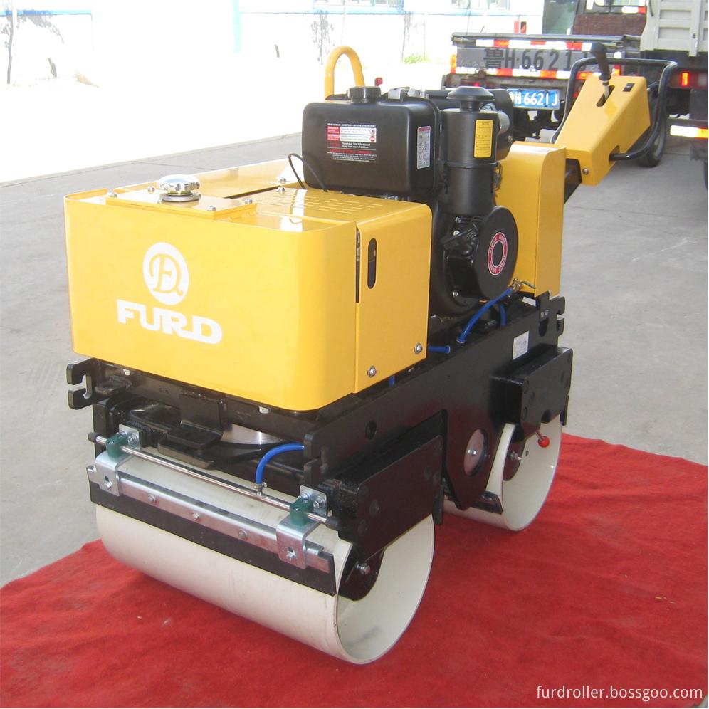 996 800kg hydraulic road roller