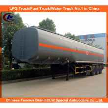 Säure liefern Anhänger 40ton für 40m3 chemische Flüssigkeit Lieferbehälter