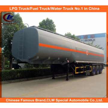 Acid Deliver Trailer 40ton for 40m3 Chemical Liquid Delivery Tank