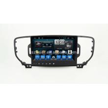 Поставщик Kaier хорошее качество автомобиль DVD GPS для Kia Sportage на 2015 2016 Поддержка камеры заднего вида МЖК
