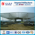 Large Span Steel Frame Portal Warehouse Construction