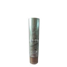 Tubo laminado de la limpieza de la espuma del fango de D35mm, tubo de empaquetado vacío