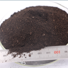 China supplier black powder organic compost fertilizer