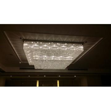 Decoración del Hotel Proyecto de Cristal Lámpara (KA1060)
