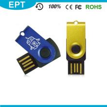 Kundenspezifisches Logo 4GB Mini Swivel USB Flash Drive (EM020)