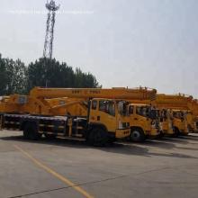 8-16T mini truck mounted crane